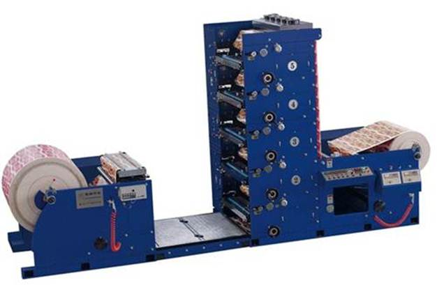 Флексографская печатная машина AtlasFlex-950 - фотография флексомашины -1