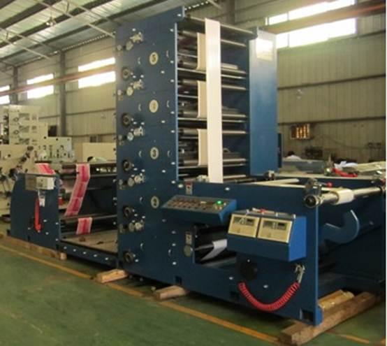 Флексографская печатная машина AtlasFlex-950 - фотография флексомашины -2