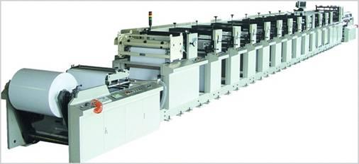 Флексографские печатные машины линейно-секционного построения серии DH-660