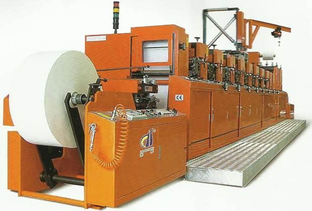 Описание: Флексографская рулонная печатная машина линейного построения DH-330 - фотка 2