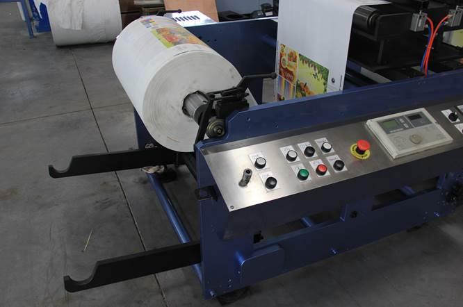 Описание: Спецификация флексографской печатной машины горизонтального построения серии DH - фото 1