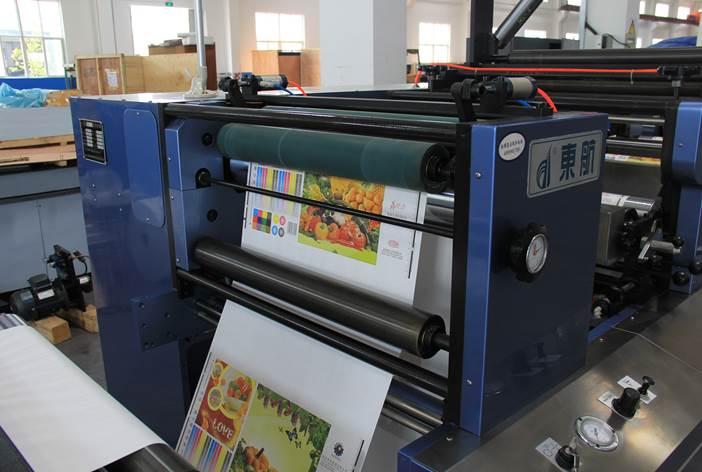 Описание: Спецификация флексографской печатной машины горизонтального построения серии DH - фото 3