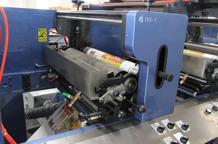 Описание: Спецификация флексографской печатной машины горизонтального построения серии DH - фото 4