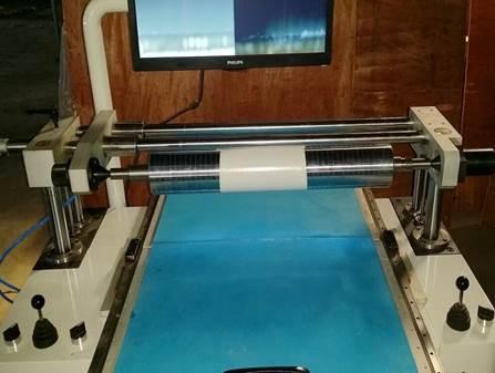 Система наклейки флексографских форм с раскатной системой монтажа FPM-450. Фотография 2