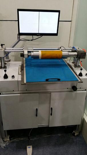 Система наклейки флексографских форм с раскатной системой монтажа FPM-450. Фотография 4