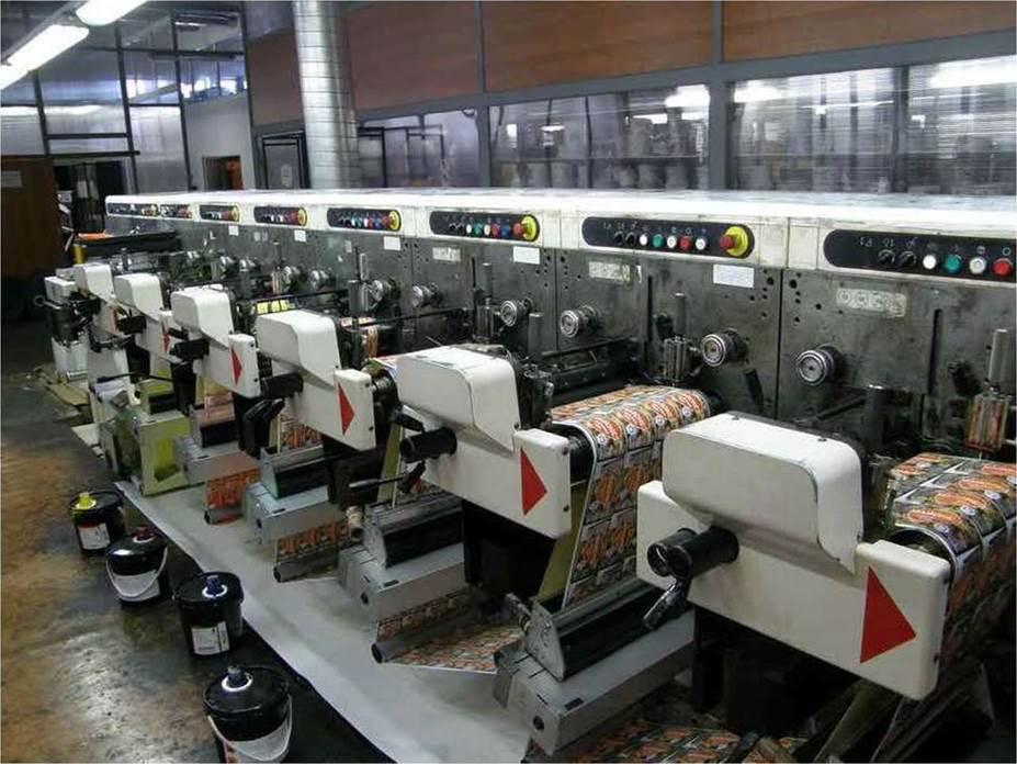 Описание: Спецификация флексографской печатной машины горизонтального построения NILPETER FA-3300 - фото 2