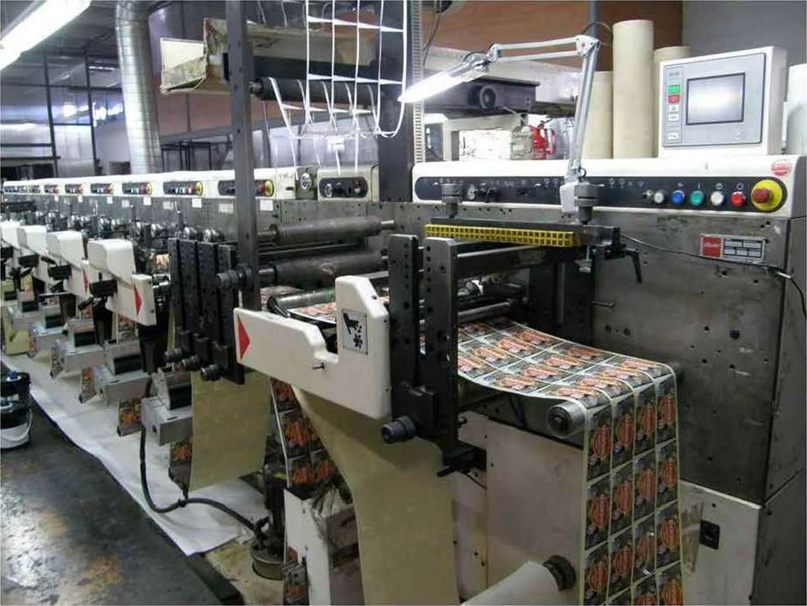 Описание: Спецификация флексографской печатной машины горизонтального построения NILPETER FA-3300 - фото 4