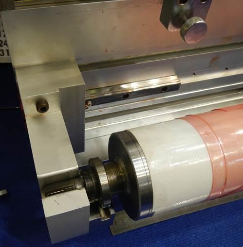 Описание системы наклейки флексографских форм на формный цилиндр SM-450, фотография - 8