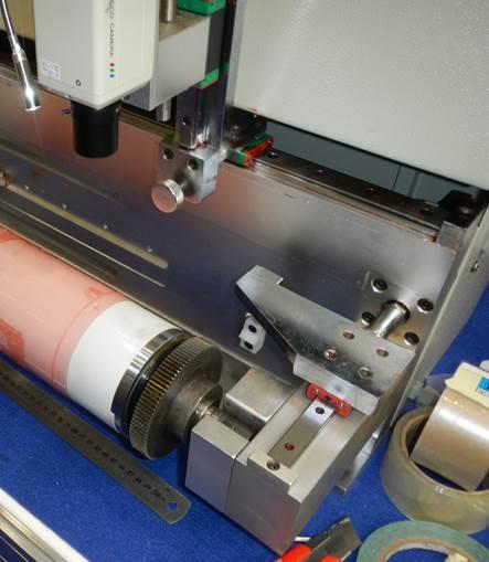 Описание системы наклейки флексографских форм на формный цилиндр SM-450, фотография - 9