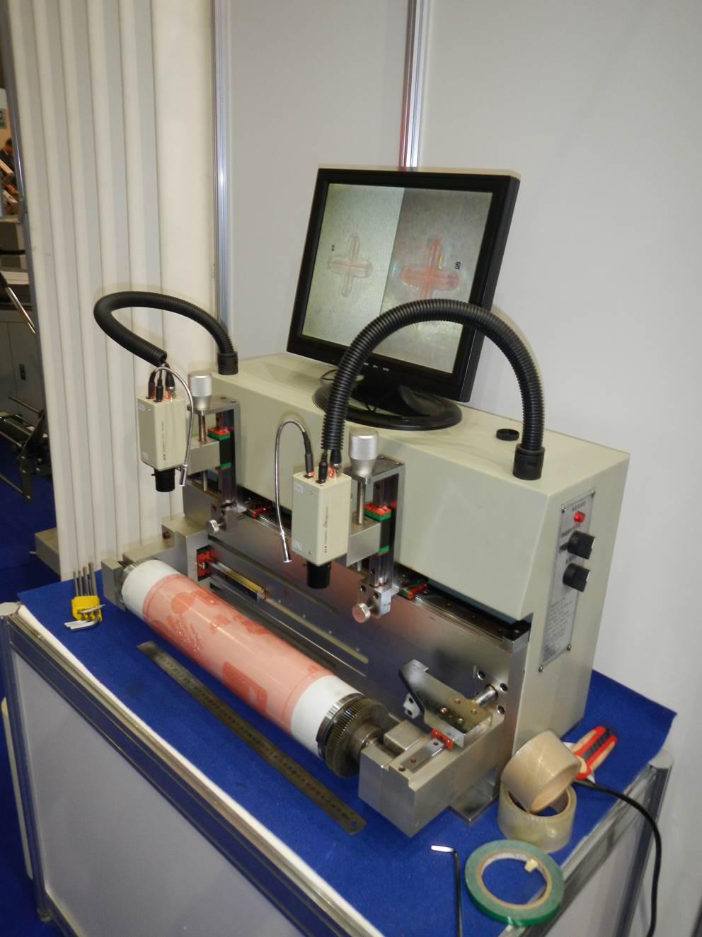 Описание системы наклейки флексографских форм на формный цилиндр SM-450, фотография - 11