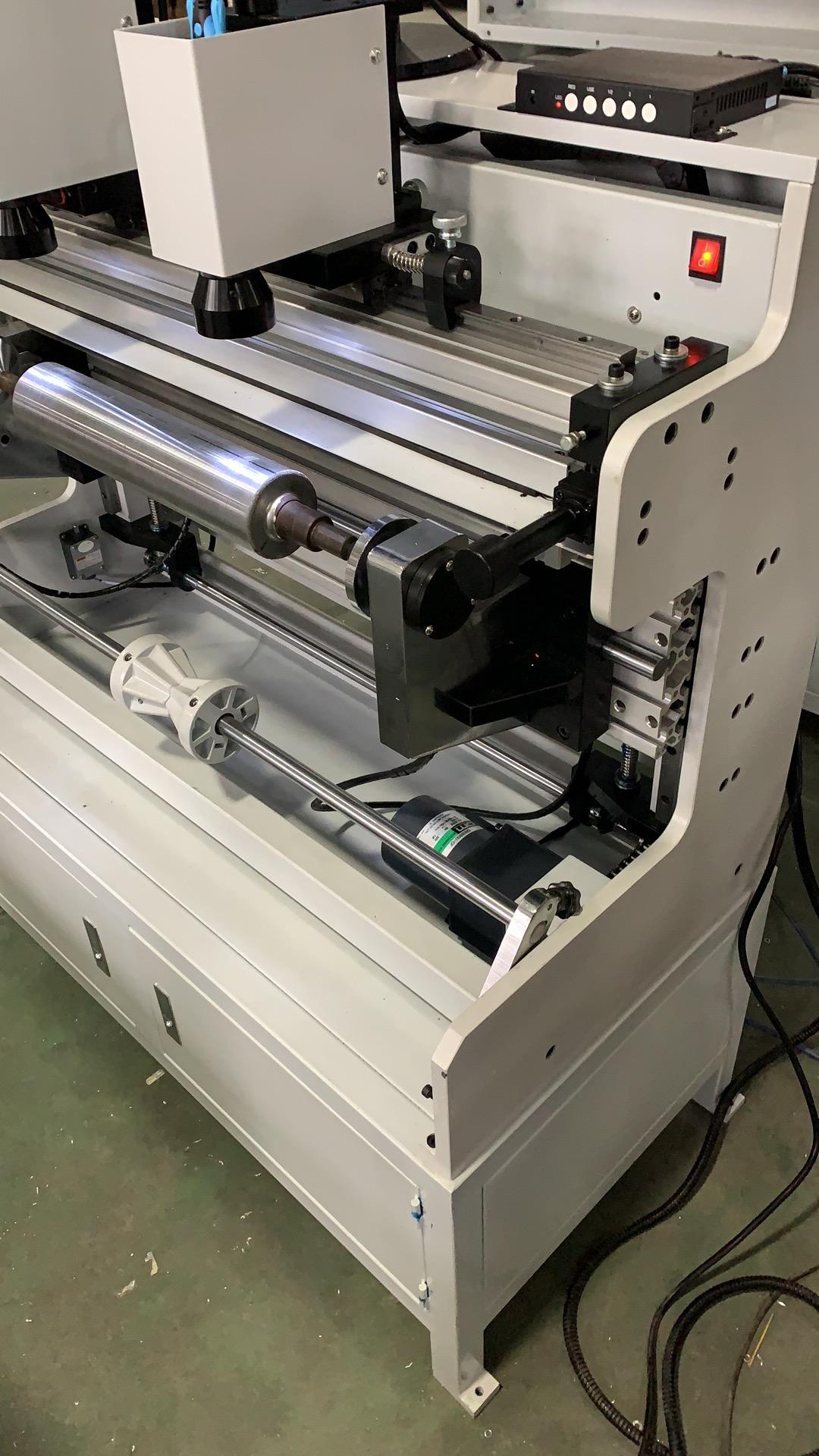 Система наклейки флексографских форм на формные цилиндры и гильзы SM-450 - подробные фотографии и видео работы - монтажный стол для флексографских форм – стол для монтажа флексографских форм. Фотография 3.