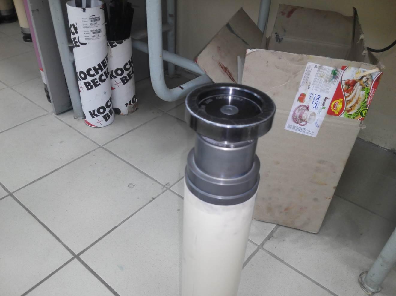 Подробные фотографии системы наклейки флексографских форм SM-450  для наклейки форм на формные цилиндры итальянской печатной машины. Фото 7.