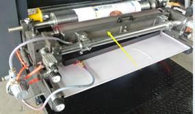 Флексографская печатная машина планетарного построения (с центральным барабаном) WRY-600-6. Фотография - картинка 6.