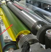 Флексографская печатная машина планетарного построения (с центральным барабаном) WRY-600-6. Фотография - картинка 8.