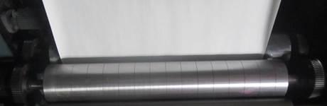 YT-1600 - Широкорулонная 1-цветная флексографская печатная машина ярусного построения. Фотография 13.