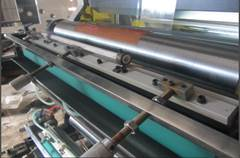 YT-1600 - Широкорулонная 1-цветная флексографская печатная машина ярусного построения. Фотография 15.