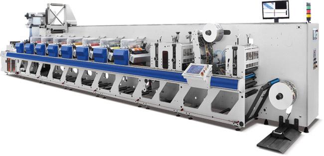 Флексографская сервоприводная гильзовая печатная машина ZJR-330 - 8 печатных секций – специкация. фотография 1