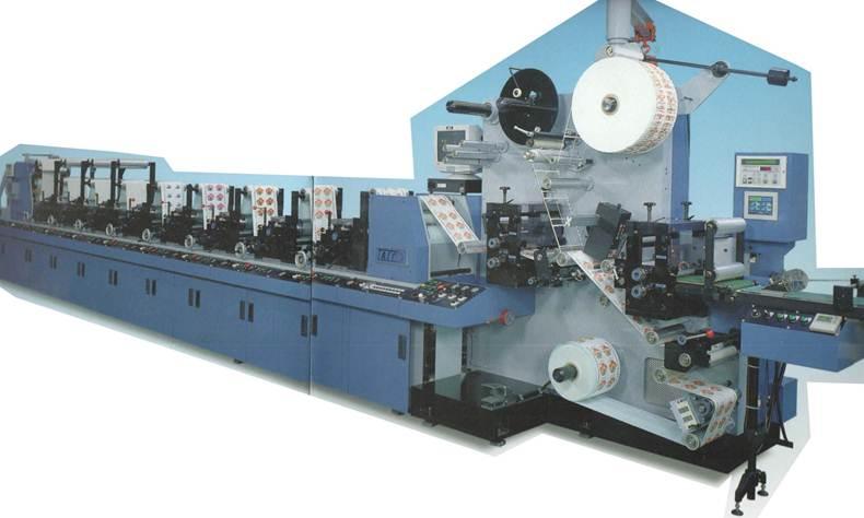 Флексографские печатные машины линейного построения<br>TAIYO (Япония) серии TLF - фотография 1
