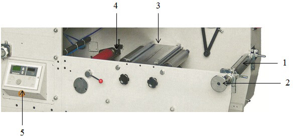 Система размотки полотна во флексографских печатных машинах Атлас Флекс -1-я фотография