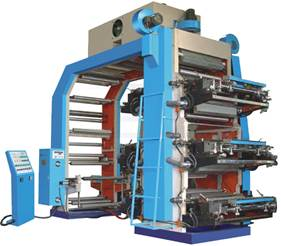 YTZ Series Six-Color Middle-High Speed Flexo Printing Machine